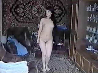 Russian amateur sex with wife