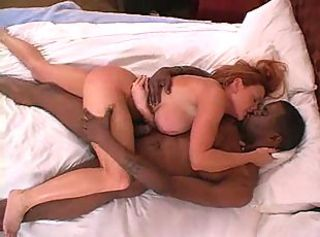 Full-grown wife makes interracial adulate