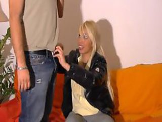 French teen amateur blowjob
