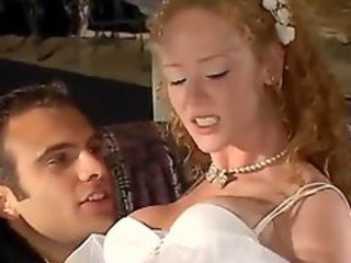 Anal bride with redhead Audrey Hollander