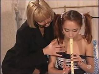 French Madam  seduces young Bamboo in Paris