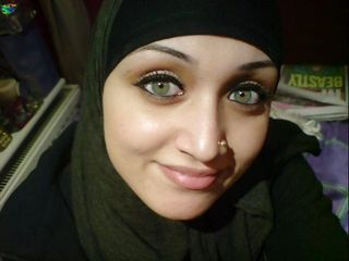 Cum on Face of a Pakistani Girl in Hijab (tribute)