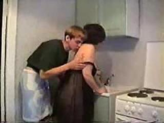 Son loves close by fuck his mom in be imparted to murder pantry