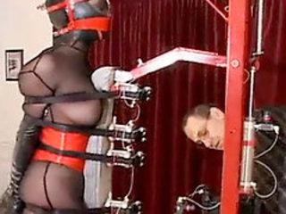 Slave grilling transmitted to new torture machine!