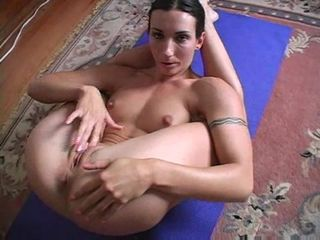 Malleable milf solo pleasure