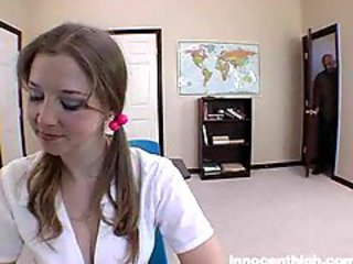 Sunny Lane as a schoolgirl riding locate