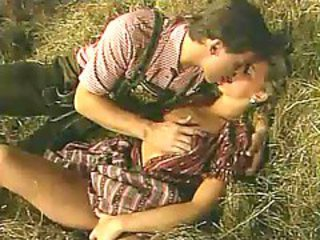Sex on the Farm on Old German video