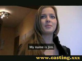 Adorable Babe Casting Audition first time Beautiful C...