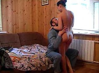 Russian couple recording their fuck