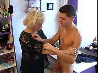 mom seduced son during making homework