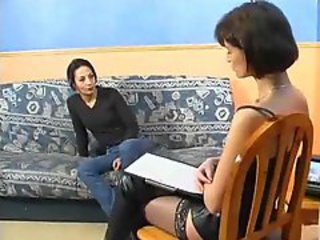 Chick in boots sucks and fucks hard