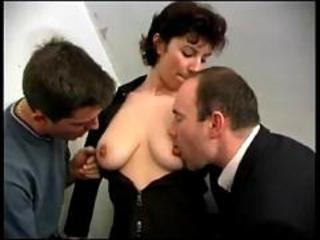 French mature property 2 cocks