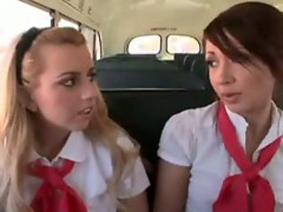 School Bus Fuck Sluts Scene One Part I