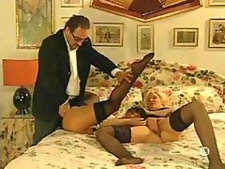 Two Mature French Wives In Lingerie Want Cock