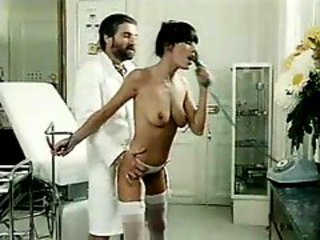 Classic porn with his naughty nurse fucked hard