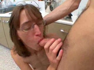 Skinny Wife Gets Rammed In The Kitchen