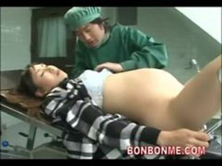 pregnant milf creampie fucked by doctor on operating ...