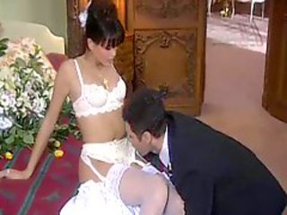 He has hot coition give his brand new bride