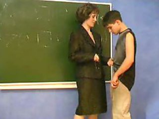Mature trainer seduced young boy