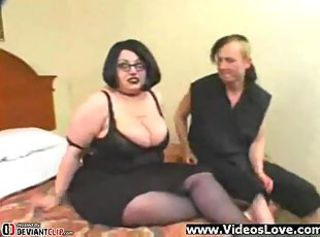 Goth Fatty double teamed