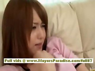 Akiho Yoshizawa asian ungentlemanly has gorgeous pair