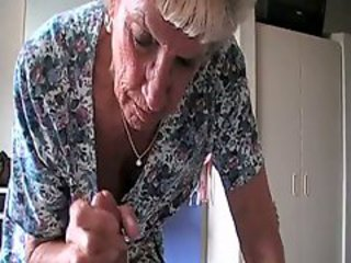Granny enjoying a cock