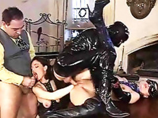 Excess in Auriferous pt2. Latex fisting and fucking.