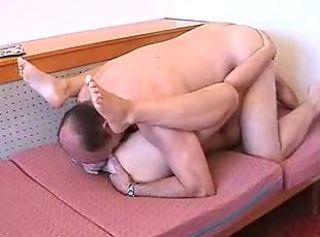 Daddy loves to fuck myshaved pussy