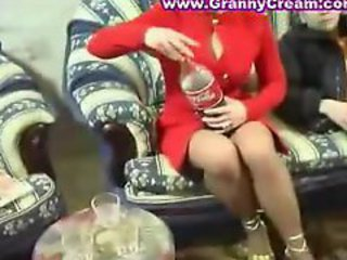 Blonde Russian Mature Mother