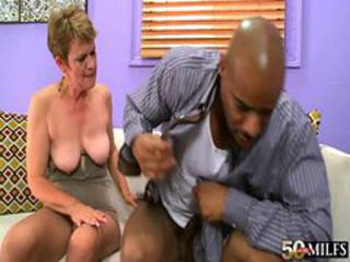 Granny cougar marla jones bangs bbc
