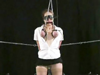 Extreme Painful Breast Bondage