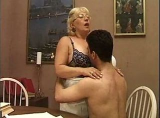 Mature Italian Teacher And The...