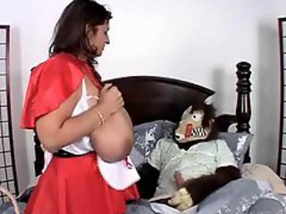 Wolf Fucks Little Red Riding Hood With Giant Boobs