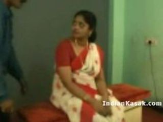 indian Tamil School Teacher Radha Fucking with Colleg...