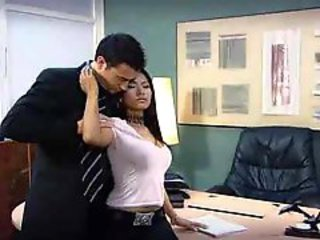 Priva fucked in the office
