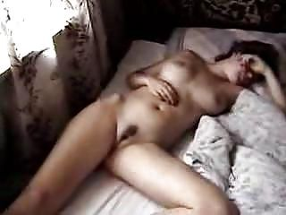 Amateur Bedroom Homemade MILF Sleeping Webcam Wife