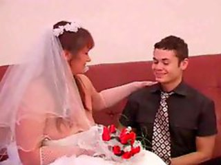 boy and mature woman wedding abstruse