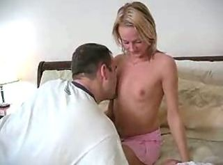 Really Sweet Petite Teen Gets Her Tight Pussy Fucked