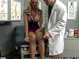Examination Be proper of Blonde Patient!