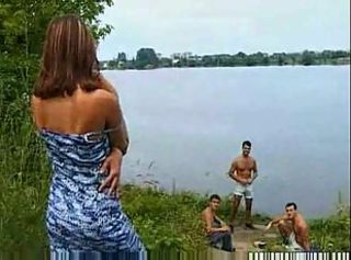 outdoor group sex with russian teen girl