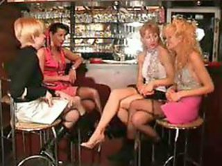 French mature blonde - sex group and anal