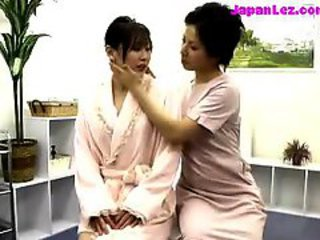 Asian Girl Getting Her Nipples Sucked Massaged With Oil Pussy Rubbed By The Therapist