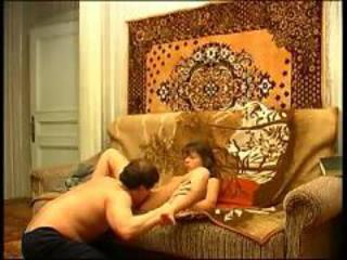 Russian dad fucking daughter