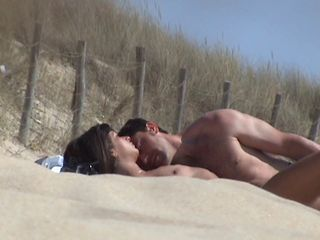 incredible french couple beach n