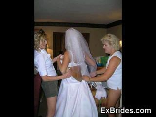Sometimes bridal parties go t...