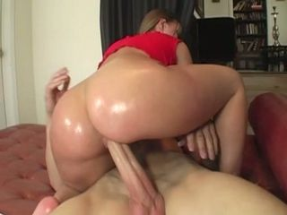 Katy Karson gets oiled up for a hard cunt fucking