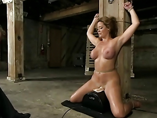Riding Sybian