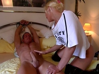 Sweet Teen Blonde Dominating Huge Young Cock