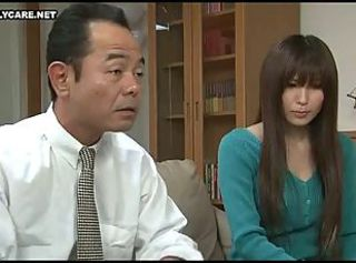 Japanese Wife Was Fucked apart from Husband s Boss 2