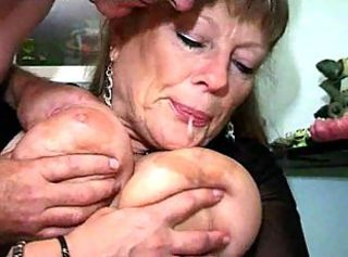 French Busty Of age Woman With Retrench And Son